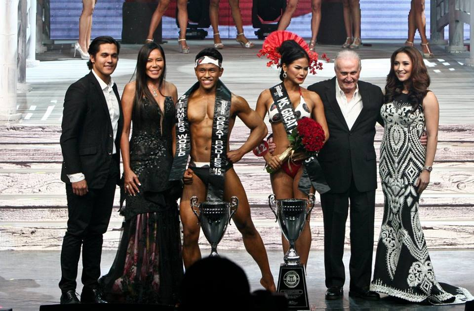 Winners: Jan Dominic Hung & Althea Vega