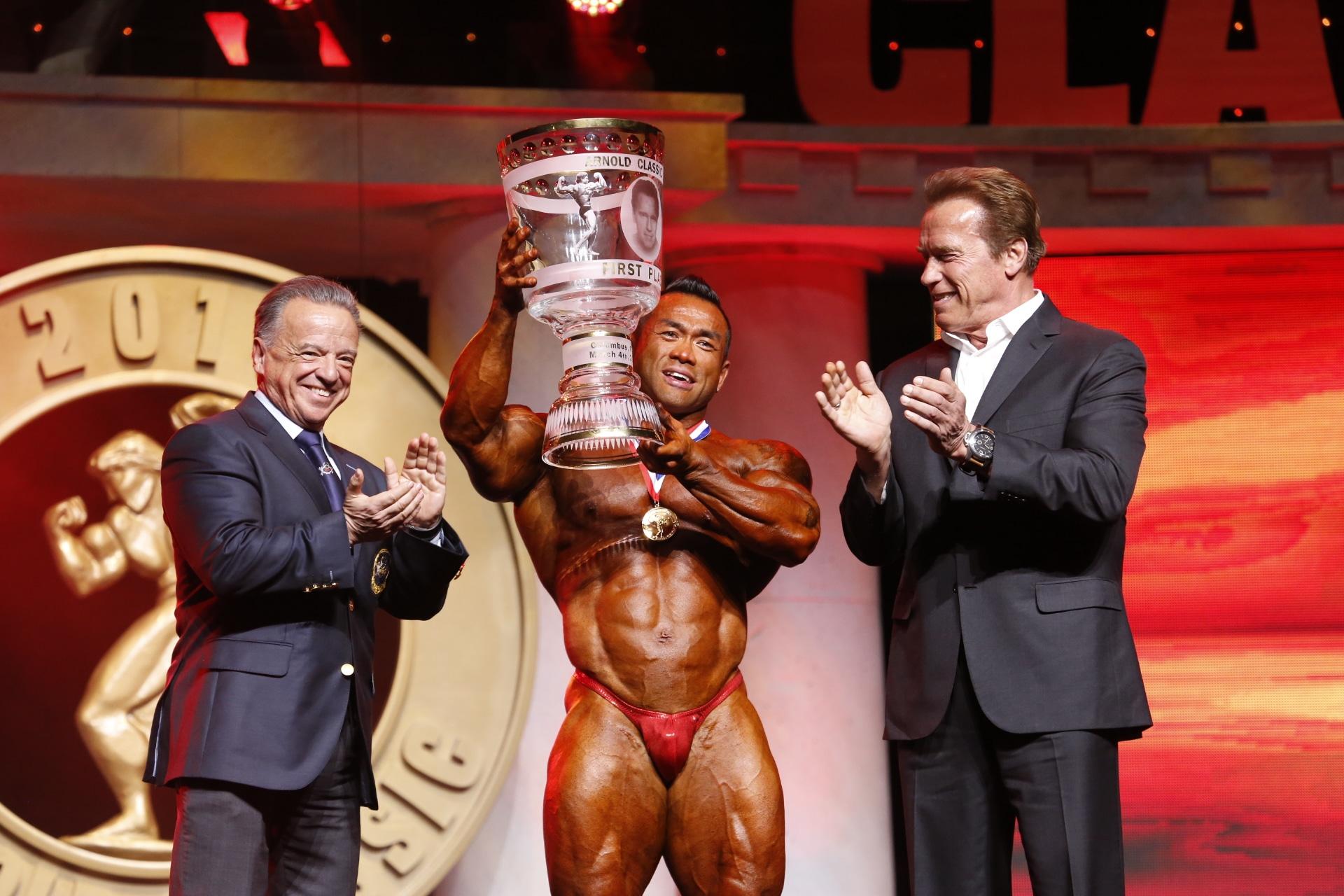 Arnold Classic 212 Winner Hidetada Yamagishi