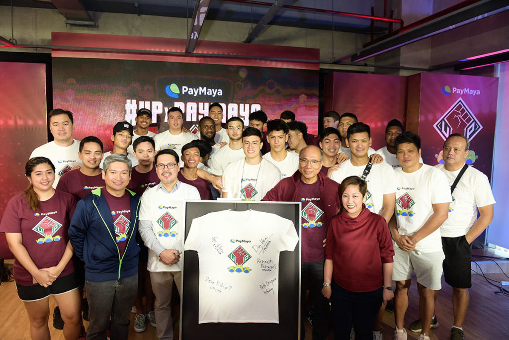 PAYMAYA THROWS ITS SUPPORT BEHIND THE U.P. FIGHTING MAROONS