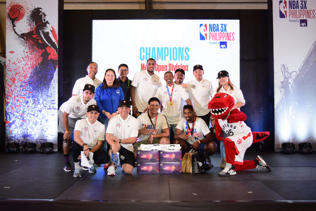 Mark Anthony Doligon-led EGS Elite bagged the NBA 3X Philippines 2019 presented by AXA Men's Open title.