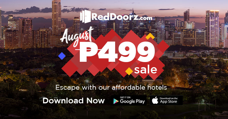 RedDoorz gave me a super treat this August and now I can share it with you guys! Only 499php for you to book rooms all over Philippines this month! Plus get more discounts with this voucher code TRAVELESCAPES1 :) Download the RedDoorz app on App Store and Google Play @reddoorzph and like and follow RedDoorz Philippines at Facebook and Instagram to make it happen!