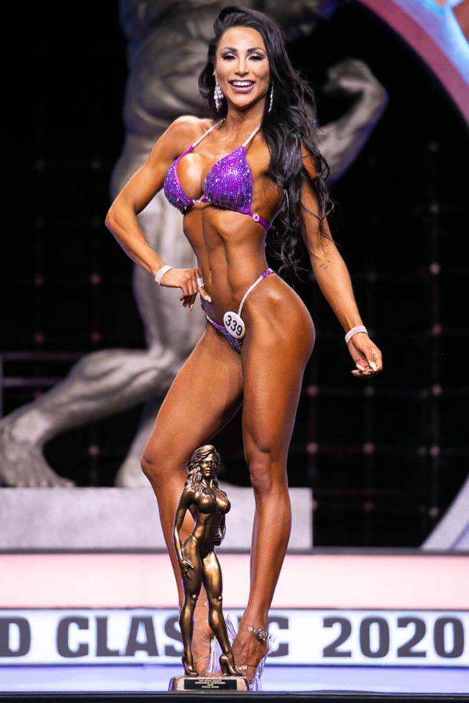 Bikini Overall Winner Gabrielle Messias #339 photo by Darren Burns