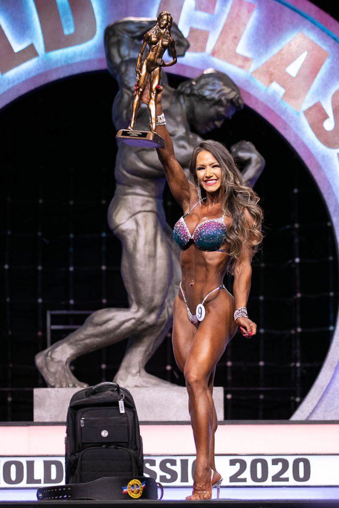 Wellness Overall Winner Francielle Mattos #9 photo by Darren Burns